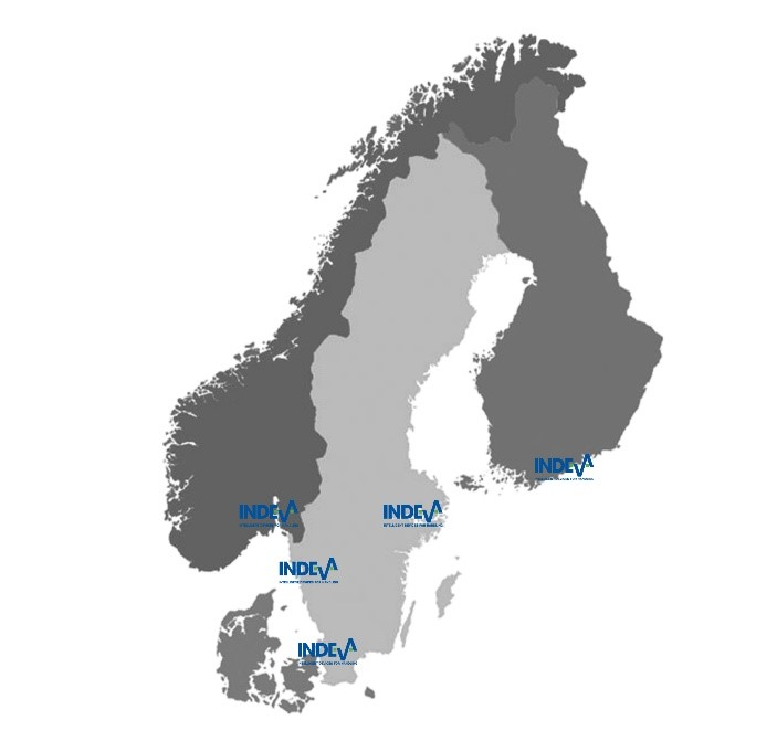 indeva-nordic-map